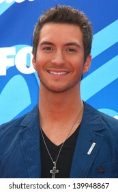 Paul Jolley at the American Idol Season 12 Finale Arrivals, Nokia Theater, Los Angeles, CA 05-16-13