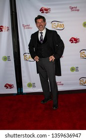 Paul Nygro arrives at the 10th Annual Indie Series Awards at The Colony Theatre in Burbank, CA on April 3, 2019.