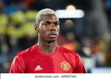 "Paul Pogba before match 1/8 finals of the Europa League between FC ""Rostov"" and ""Manchester United"", 09 March 2017 in Rostov-on-Don, Russia."