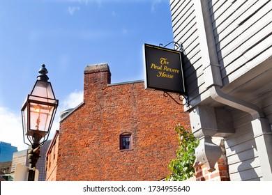 The Paul Revere House, Boston, MA, USA, September 29,2019