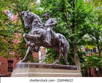 Paul Revere Monument - Boston, MA