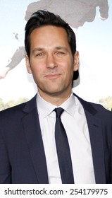 "Paul Rudd at the Los Angeles Premiere of ""Wanderlust"" held at the Mann Village Theatre in Los Angeles, California, United States on February 16, 2012."