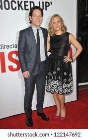 """Paul Rudd & wife Julie Yaeger at the world premiere of his movie """"This Is 40"""" at Grauman's Chinese Theatre, Hollywood. December 12, 2012  Los Angeles, CA Picture: Paul Smith / Featureflash"""
