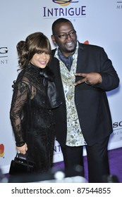 Paula Abdul & Randy Jackson at music mogul Clive Davis' annual pre-Grammy party at the Beverly Hilton Hotel. February 9, 2008  Los Angeles, CA Picture: Paul Smith / Featureflash