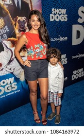 "Paula Garces attends ""Show Dogs"" World Premiere at TCL Chinese 6 Theatre, Hollywood, CA on May 5th, 2018"