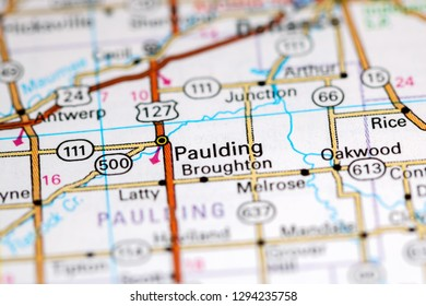 Ohio City Map Stock Photos Images Photography Shutterstock