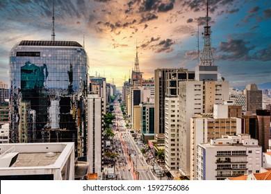 Paulista Avenue - São Paulo, Brasil.