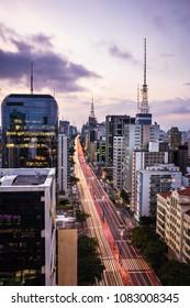 Paulista Avenue Sao Paulo - Brazil