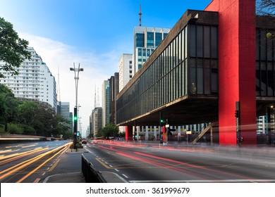 Paulista Avenue - Sao Paulo - Brazil