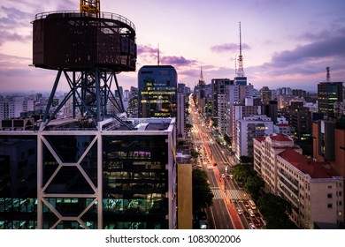 Paulista Avenue Sao Paulo Landmark - Brazil