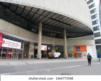São Paulo, Brazil - 26th July 2019: Center 3 Shopping Mall. This mall stays on the corner of Paulista Avenue and Augusta Street and is one of the main shopping options around there.