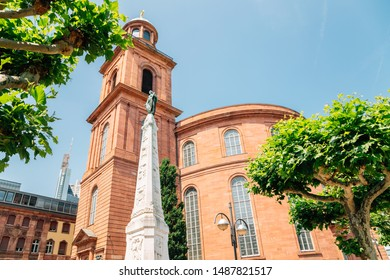 Paulskirche St. Paul's church in Frankfurt, Germany