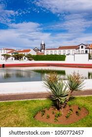 Paus, water tank in Santa Cruz, Graciosa Island, Azores, Portugal