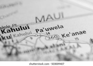 Pa'uwela. Hawaii. USA