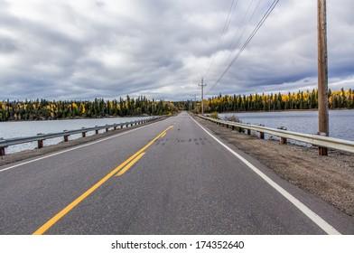 Paved highway