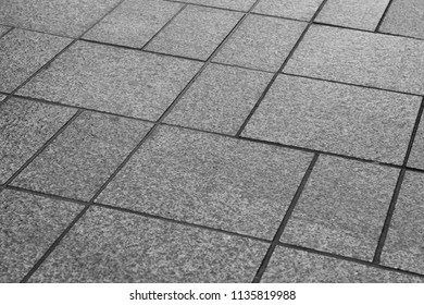 The pavement made of stone