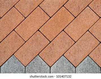 Paver brick background