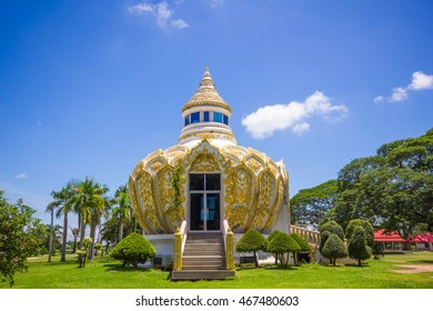 Pavilion (Bat Bo Holy Father money) Wat Yang Khoi Kluea at Phichit Thailand.