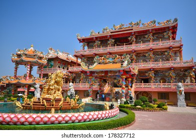 Pavilion of Chinese Temple