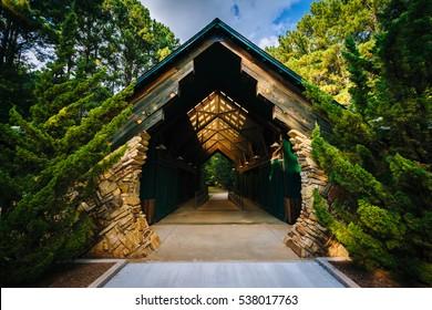 Pavilion at Jetton Park, in Cornelius, North Carolina.
