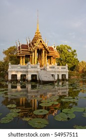 Pavilion In Suan Luang Rama 9 Of Thailand