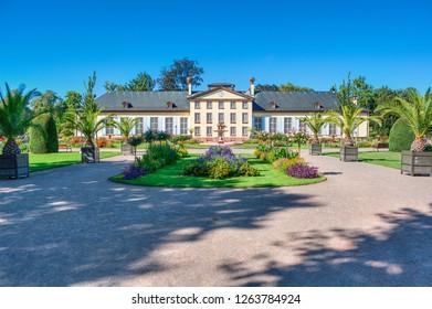 Pavillon Josephine in the park Parc de l'Orangerie in Strasbourg (France)