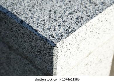 Paving stone and granite slab, stone road