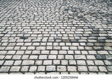Paving stone road background texture