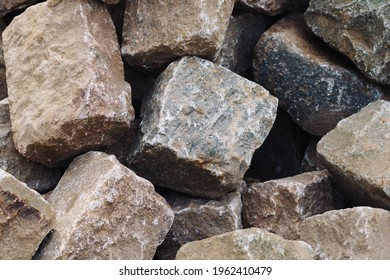 Paving stones Road construction background