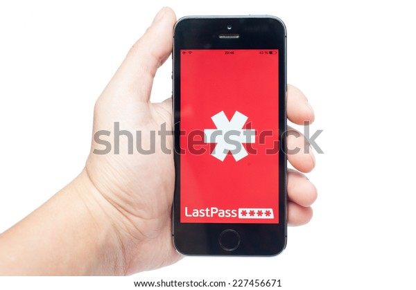 Pavlograd, Ukraine - October 31, 2014: LastPass is password manager that saves your passwords and gives you secure access to them from every computer and mobile device.