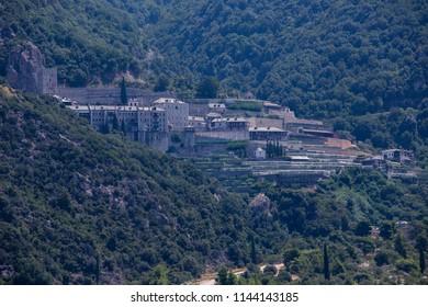 Pavlou Monastery Mt Athos
