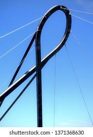 Pawn bridge in Aveiro, Portugal
