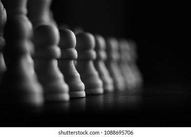 Pawns of the chess board
