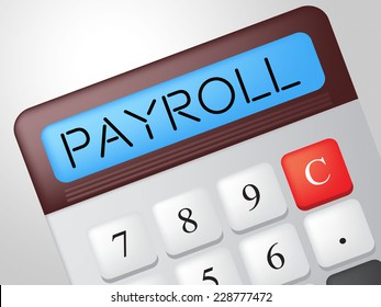 Pay Day Indicating Revenue Salary And Calculation