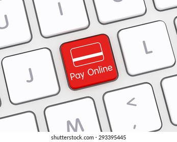 Pay online Computer Keyboard