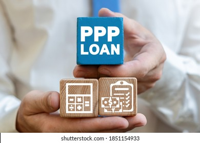 Paycheck Protection Program PPP Loan Forgiveness Business Concept. Employee Compensation.