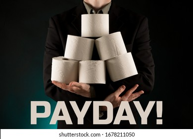 Payday memes, Toilet paper is the new currency concept