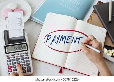 Payment Banking Bookkeeping Budget Finance Concept