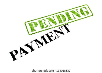Payment is currently PENDING.
