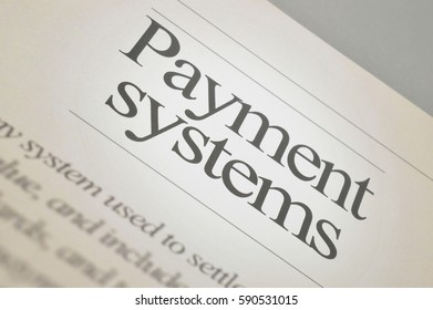 Payment systems business