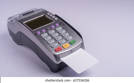 Payment terminal with white label credit card