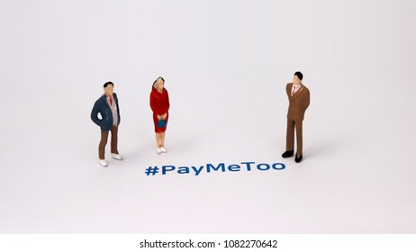#PayMeToo as a new campaign to fill the wage gap between men and women.