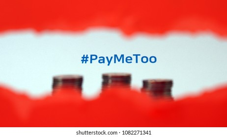 #PayMeToo as a new movement to fill the wage gap between men and women.