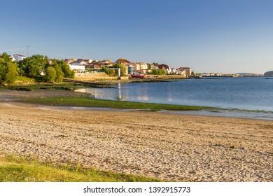 Pazo beach in Rianxo town