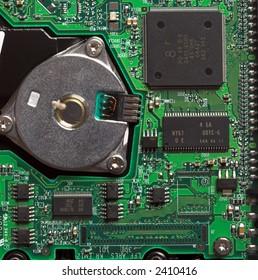 PC Hard Drive Circuit Board