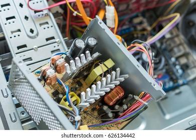 Pc Power Supply Repair Stock Photo (Royalty Free) 626134460 ...