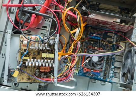 PC Power Supply Repair Stock Photo (Edit Now) 626134307 - Shutterstock