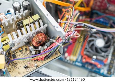 PC Power Supply Repair Stock Photo (Edit Now) 626134460 - Shutterstock