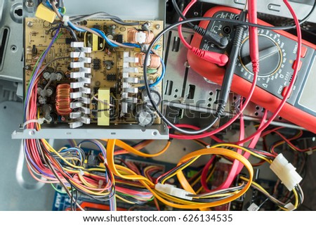 PC Power Supply Repair Stock Photo (Edit Now) 626134535 - Shutterstock