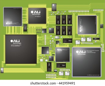 PCB motherboard
